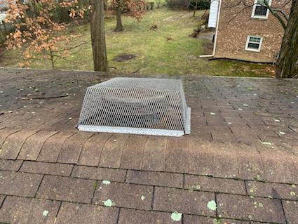 Roof Vent Guard Virginia
